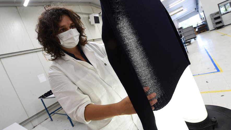 3D Tex, une PME basée à Saint-Malo, fabrique ses pulls en 3D.