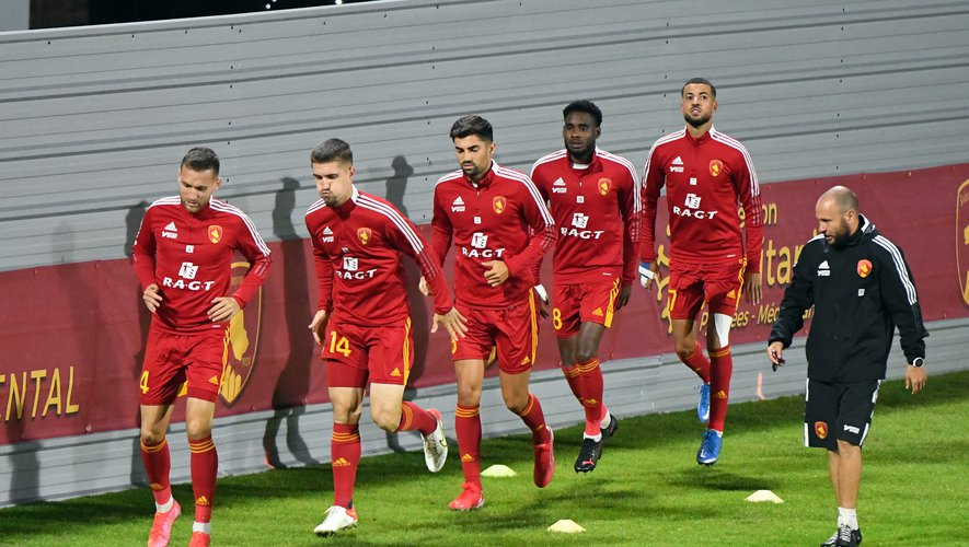 Les Ruthénois affrontent Grenoble ce vendredi.