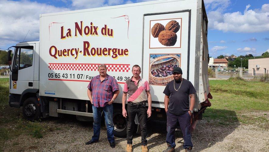 La collecte de noix et de châtaignes a lieu tous les mardis et vendredis