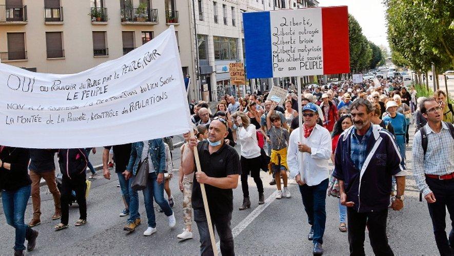 A Rodez, comme dans le reste de l'Hexagone, la mobilisation contre le pass sanitaire semble en recul.