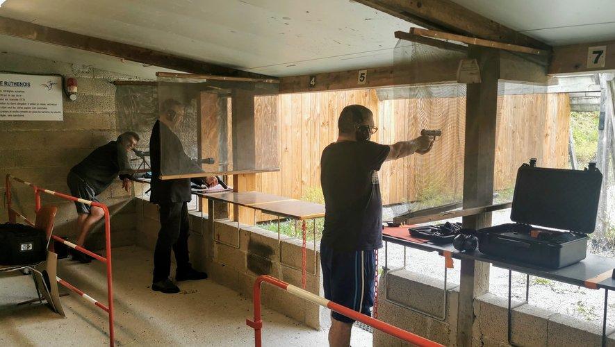Une séance de tirs réalisée au stand de Bel-Air.