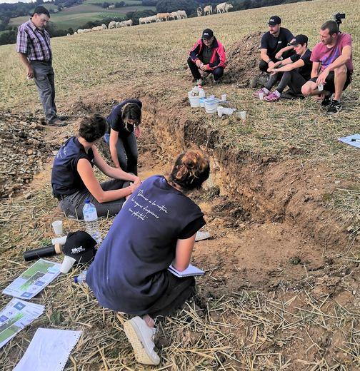 Une journée qui a permis de voir comment fertiliser les sols.