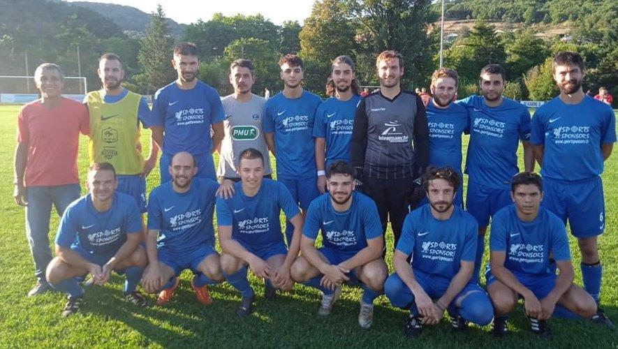 L'équipe de Vabres-l'Abbaye lors du 2e tour de Coupe début septembre.