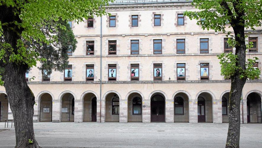 Le collège Fabre demeure le plus important de la ville de Rodez