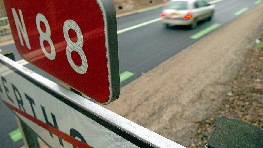 Le trafic entre Rodez et Laissac est estimé à 11600 véhicules par jour.
