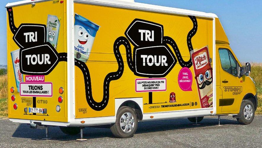 Le Tri tour, un camion itinérant présentera les nouvelles consignes.
