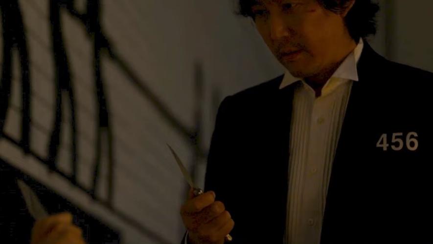 Un couteau laguiole... venu de Thiers dans la série Squid Game.