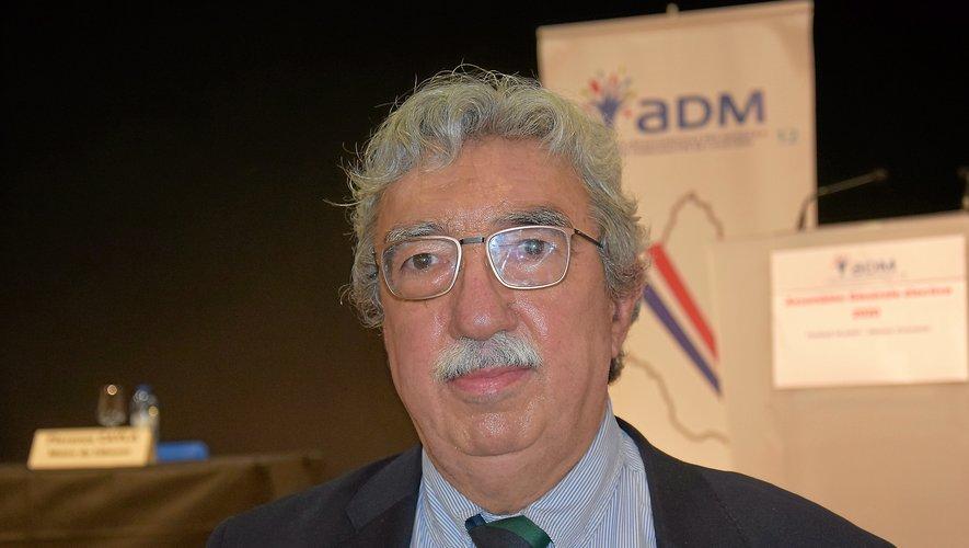 Jean-Marc Calvet animera son premier congrès comme président de l'association des maires.
