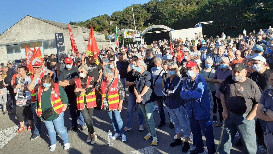La mobilisation des salariés (ici lors de la manifestion du 23 septembre) reste très importante.