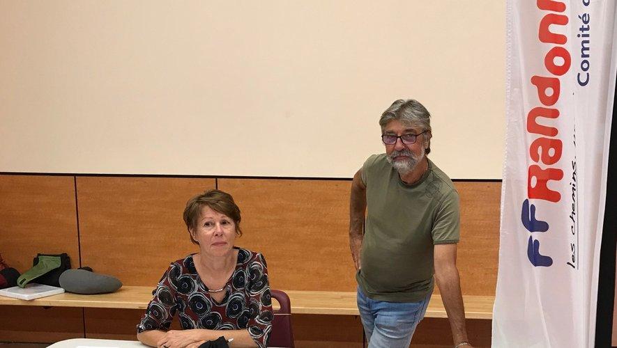 Les responsables du club lors  du forum des associations 2021.