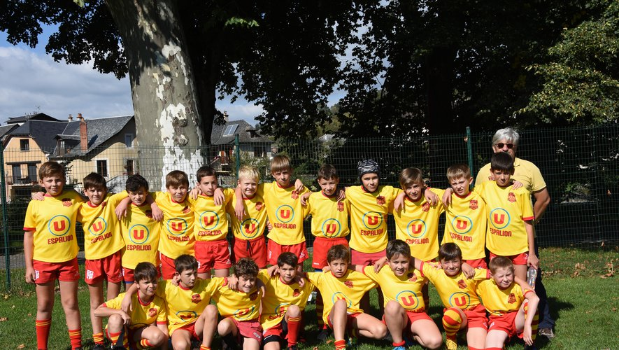 Les jeunes rugbymen retrouvent le plaisir du terrain
