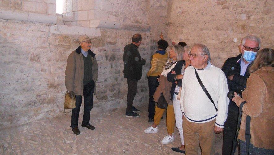 La salle capitulaire inaugurée  en présence de nombreux invités.